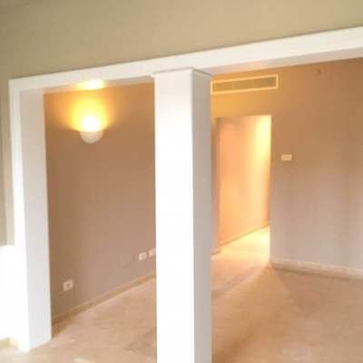 pintado habitación + lacado marco de madera