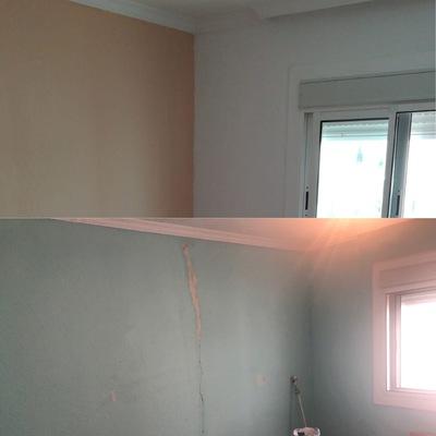 Pintado de dormitorio con arreglos