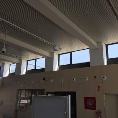 techo polideportivo