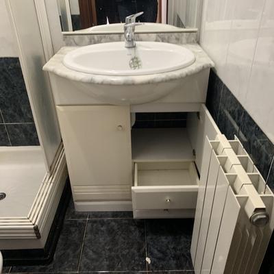 Frente de baño  antes de la reforma