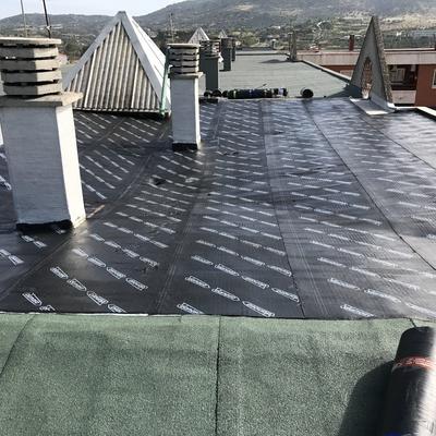 Impermeabilización de azotea de edificio