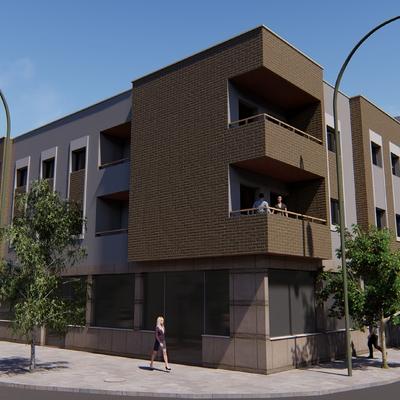 Promocion 10 viv, 17 plazas garage