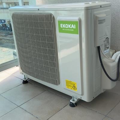 Instalación de compresor aire acondicionado
