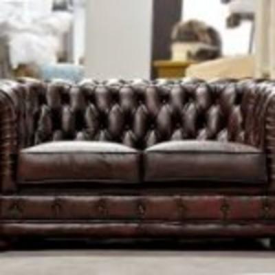 Sofa capitone vintage