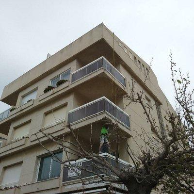 Rehacer cantos de balcones