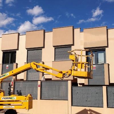 Reparación de fachada en Comunidad de Propietarios de Polop