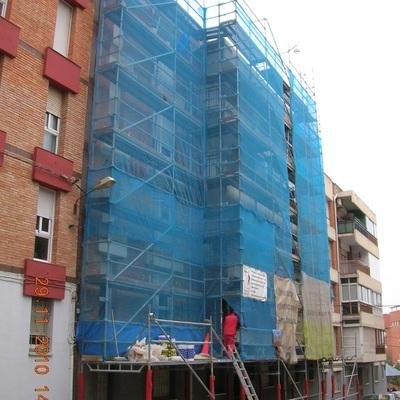 Rehabilitación integral de fachadas y edificios.