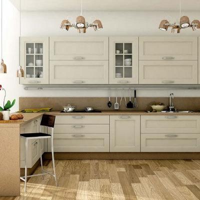 Ideas y fotos de muebles cocina con molduras para for Muebles de cocina zamora