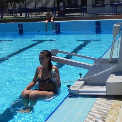 Elevador de piscina