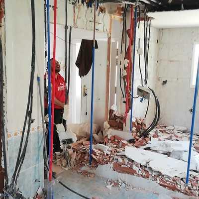 Jun. 21- Demolición chalet Miraflores