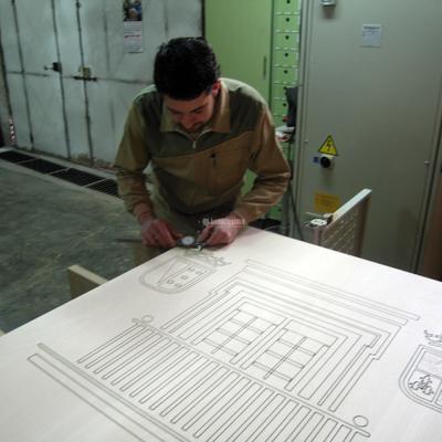 Carpintería Madera, Pantógrafo Madera, Control Numérico Cnc