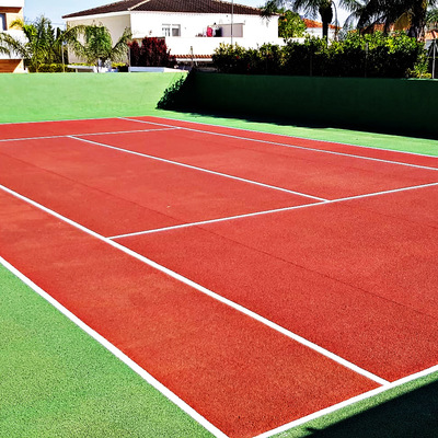 Rehabilitación de pista de tenis