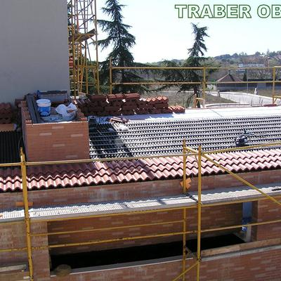 Año 2008. Construcción de 2 viviendas unifamiliares por traber Obras.Villanueva del Pardillo, Madrid