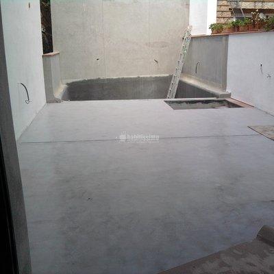 microcemento en terraza