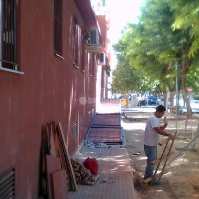 Construcción Casas, Aceras, Encofrados
