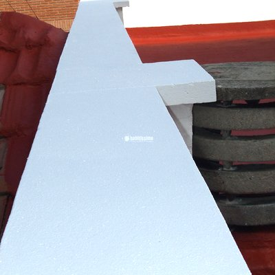 reforma de tejado en C/ Montero 40