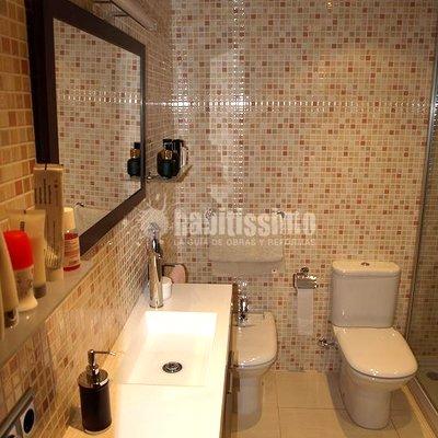 Rosés interiors reforma de un baño