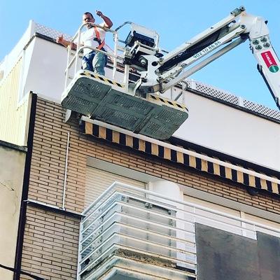 Pintura de fachada El Prat