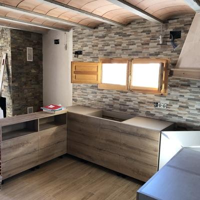 Cocina modernización casa particular a las afueras de Amposta, Tarragona