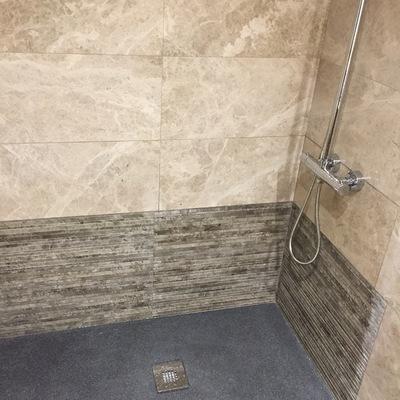 Plato de ducha de pizarra