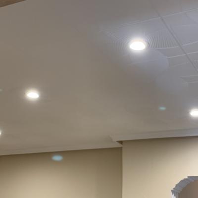 Instalación de oculos de led en vivienda