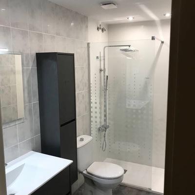 Reforma parcial baño S'agaro DESPUES