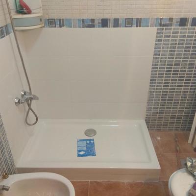 sustitución plato de ducha