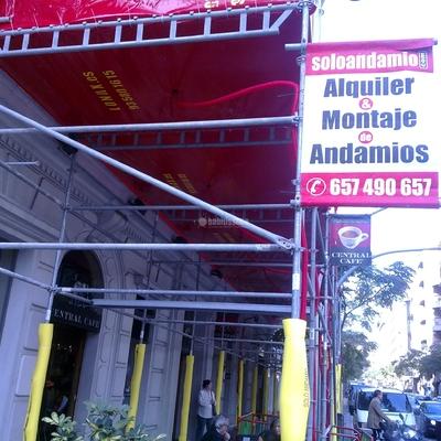 Rehabilitación Fachadas, Construcciones Reformas, Andamios