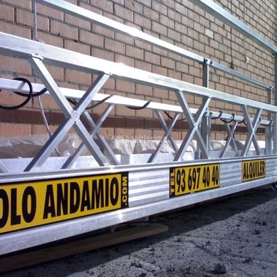 Rehabilitación Fachadas, Andamio Colgante Eléctrico, Construcciones Reformas