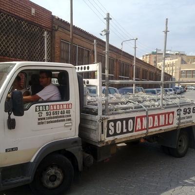 Rehabilitación Fachadas, Andamios Eléctricos, Andamios