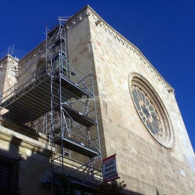 Rehabilitación Fachadas, Andamios, Andamio Colgante Eléctrico