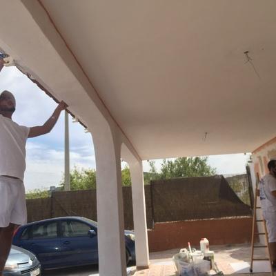 Pintura de casita