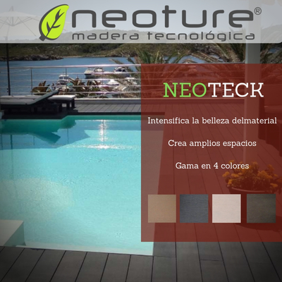 Tarima de exterior Neoteck