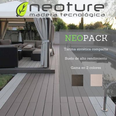 Tarima de exterior Neopack