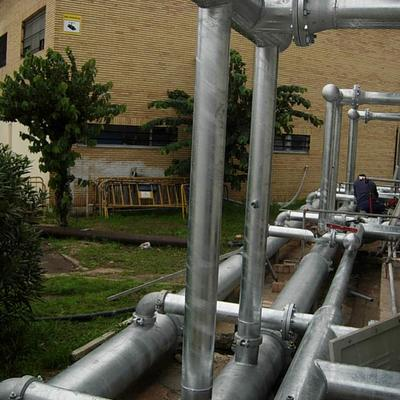 Instalación Tuberías de Refrigeración Hospital de San Carlos. San Fernando (Cádiz)