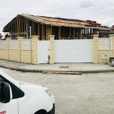 Construcción de nuevo chalet