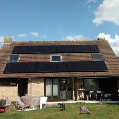 Casa dimensionada en Belgica