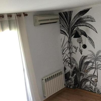 Pintura y papel de parede