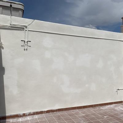 Muro arreglado