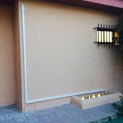 Instalación en exteriores