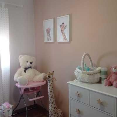 Pintura decorativa dormitorio infantil
