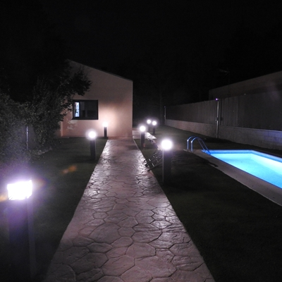 Iluminacion led exterior