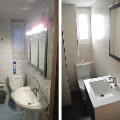 Antes y después aseo vivienda