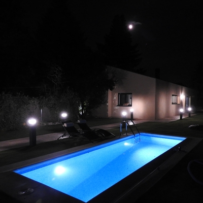 Iluminacion led piscina