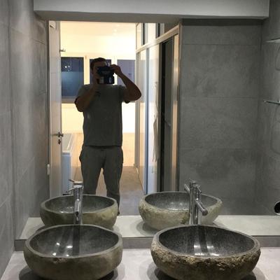 Espectaculares lavabos de piedra