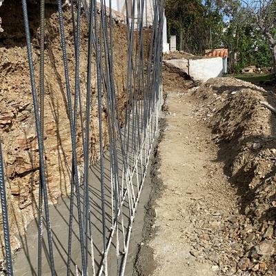 Replanteo de muro