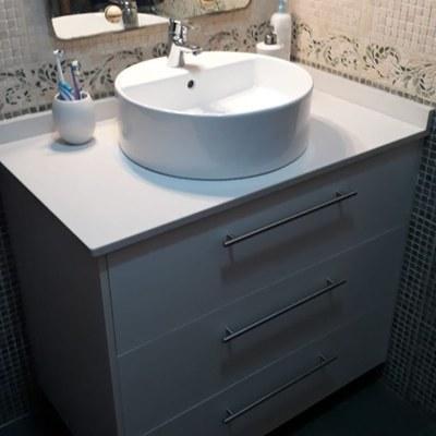 Mueble para baño con lavamanos