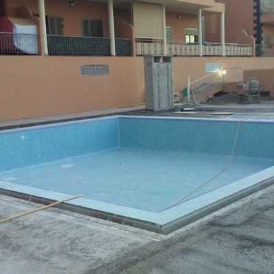 Fabricación de piscina