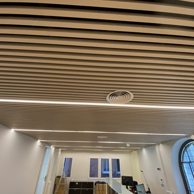 Instalación falso techo de madera