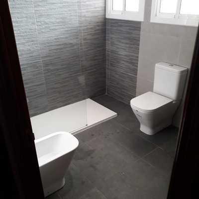 Reforma baño despues
